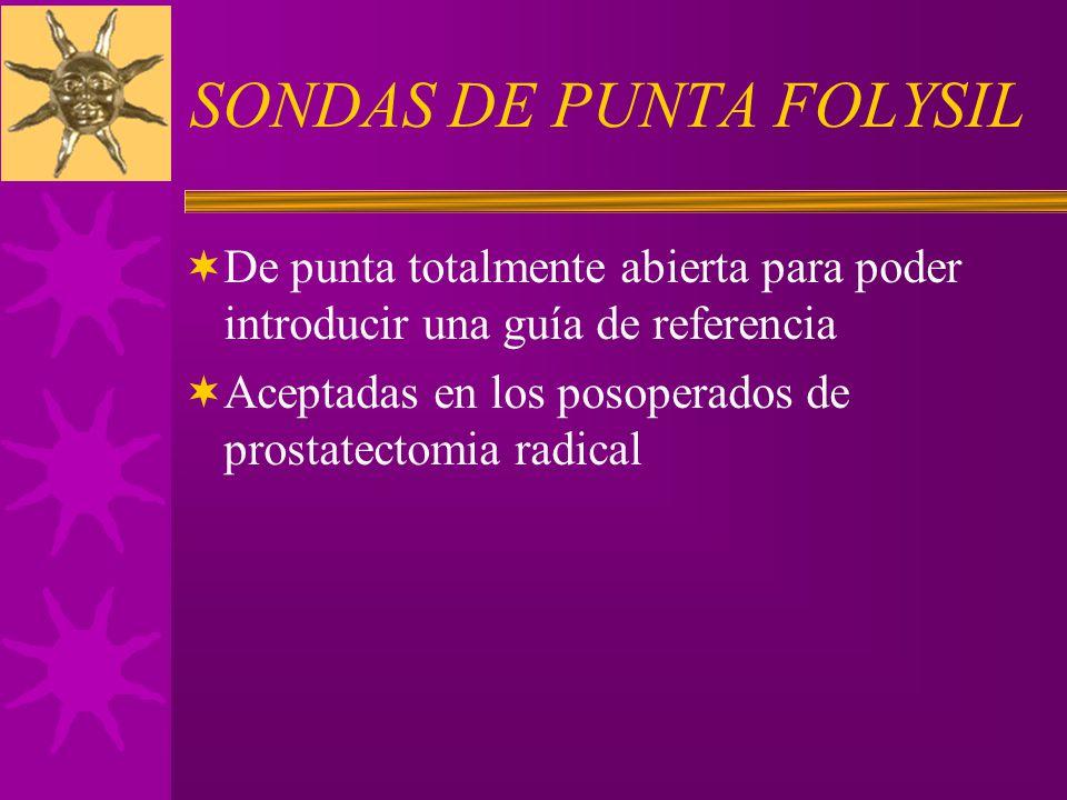 SONDAS DE PUNTA FOLYSIL