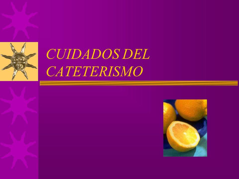 CUIDADOS DEL CATETERISMO