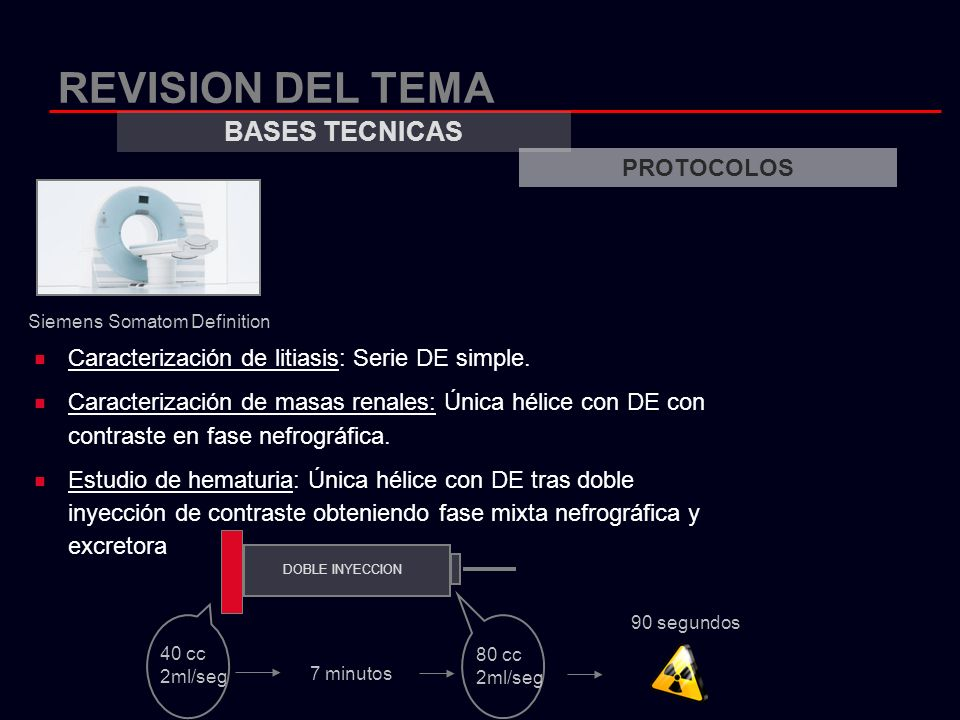 REVISION DEL TEMA BASES TECNICAS PROTOCOLOS