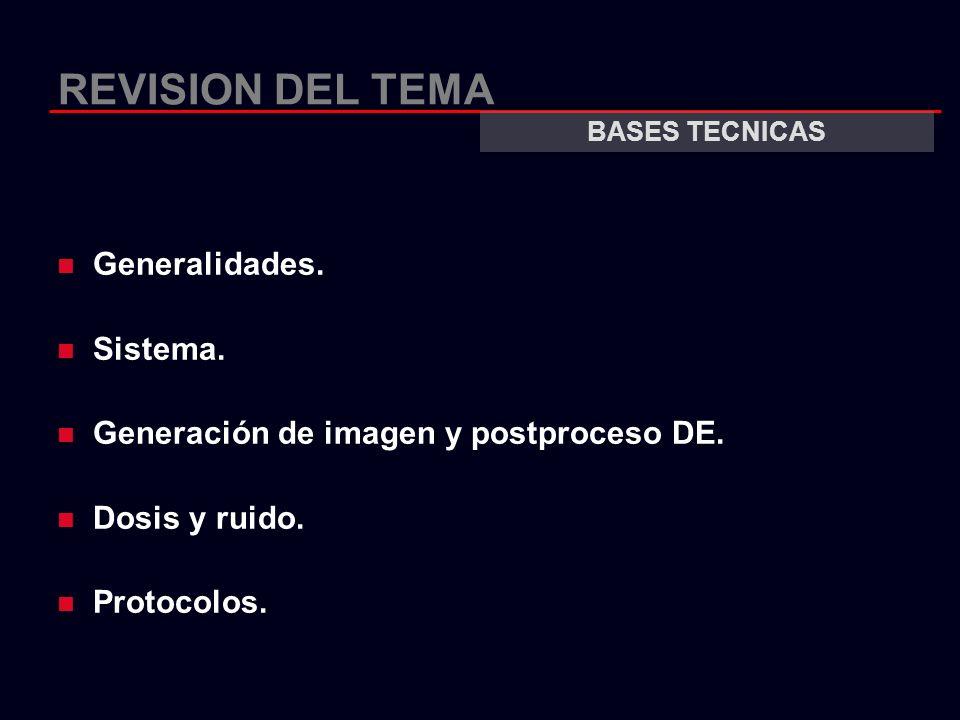 REVISION DEL TEMA Generalidades. Sistema.