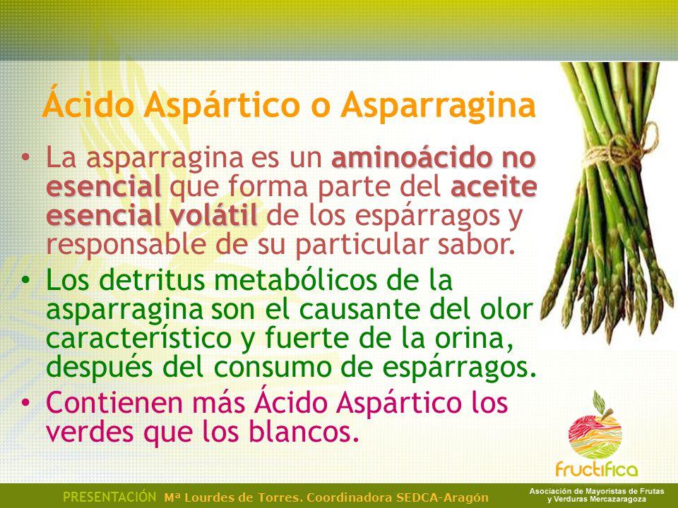 Ácido Aspártico o Asparragina