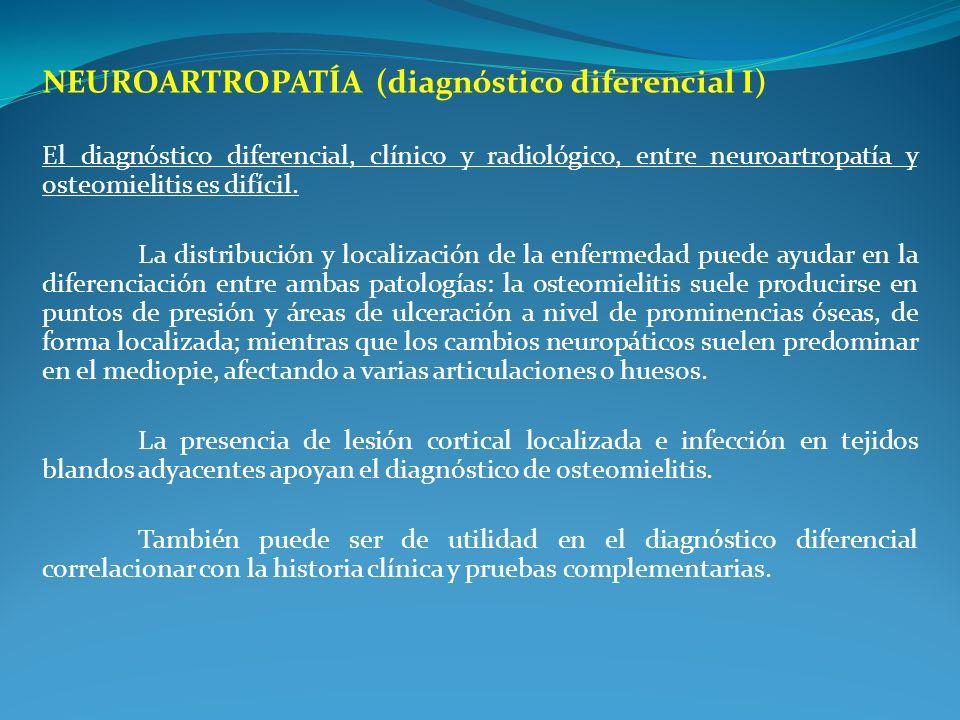 NEUROARTROPATÍA (diagnóstico diferencial I)