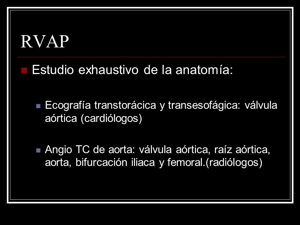 RVAP Estudio exhaustivo de la anatomía: