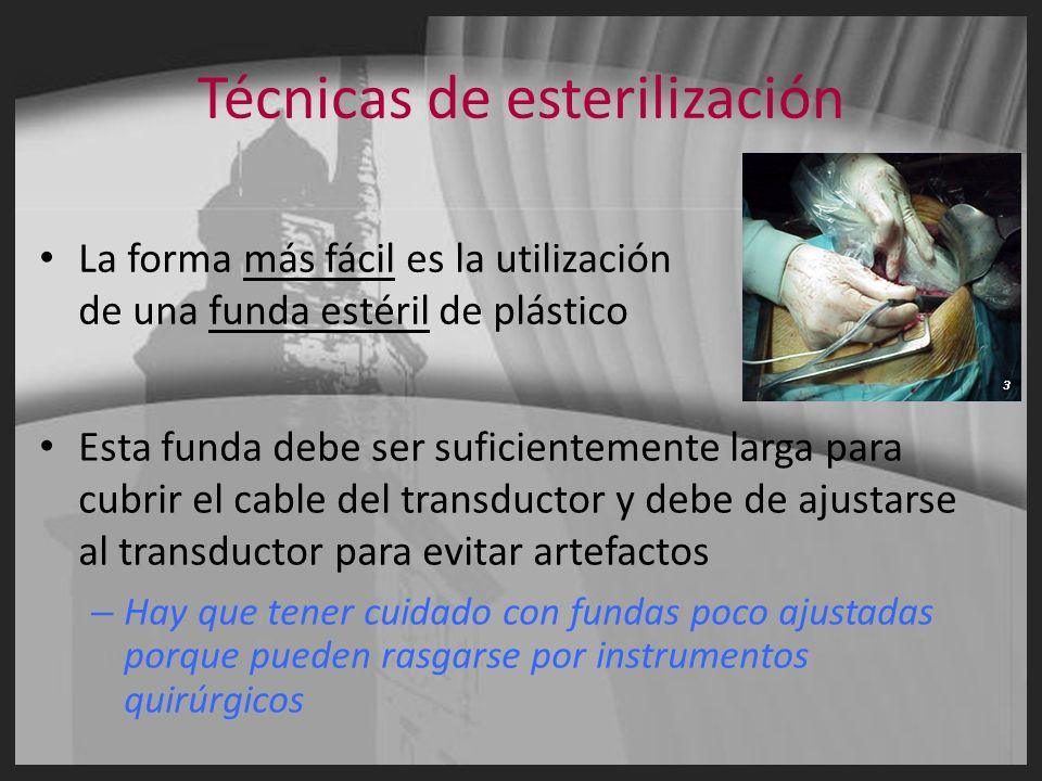 Técnicas de esterilización