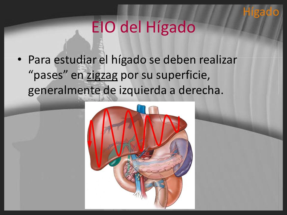 HígadoEIO del Hígado.