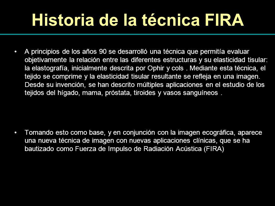 Historia de la técnica FIRA