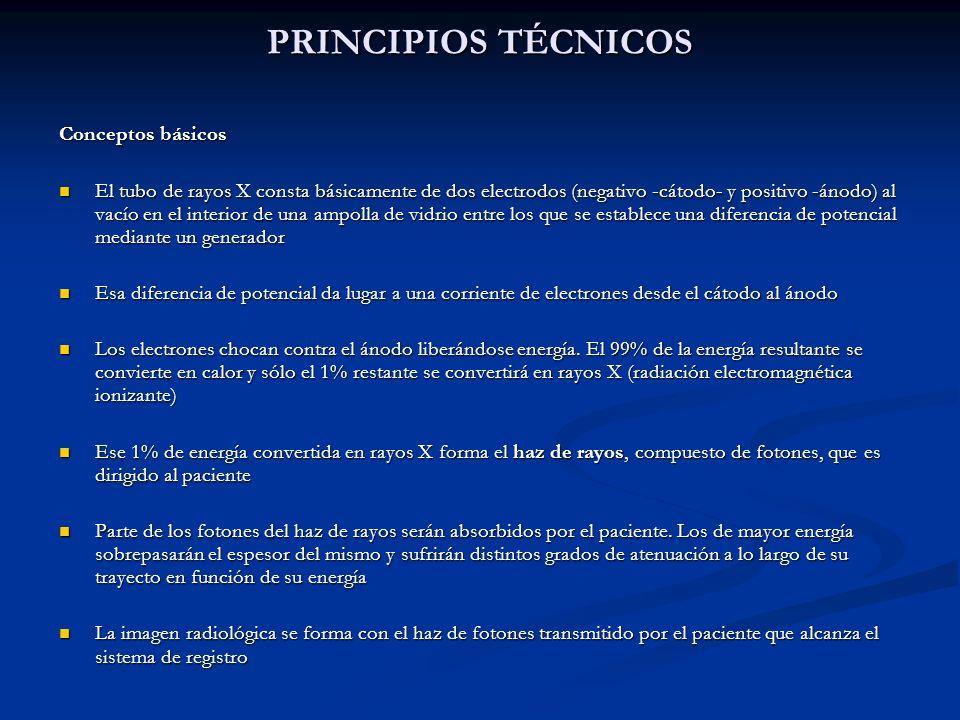 PRINCIPIOS TÉCNICOS Conceptos básicos