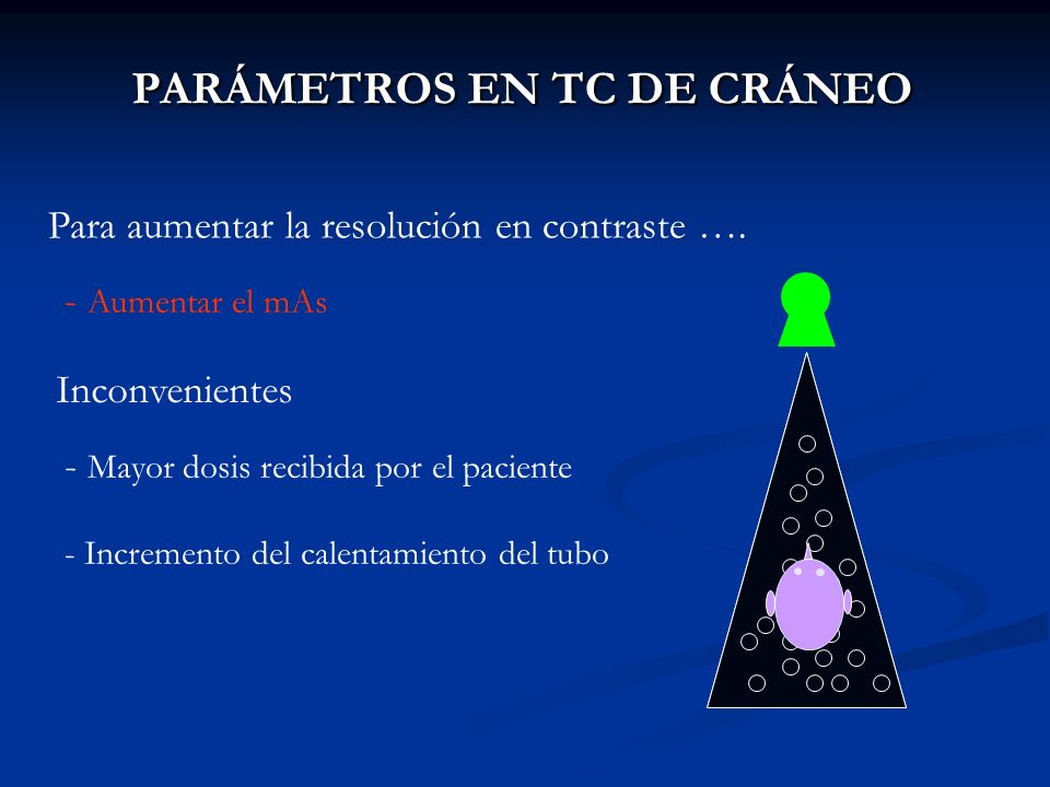 PARÁMETROS EN TC DE CRÁNEO