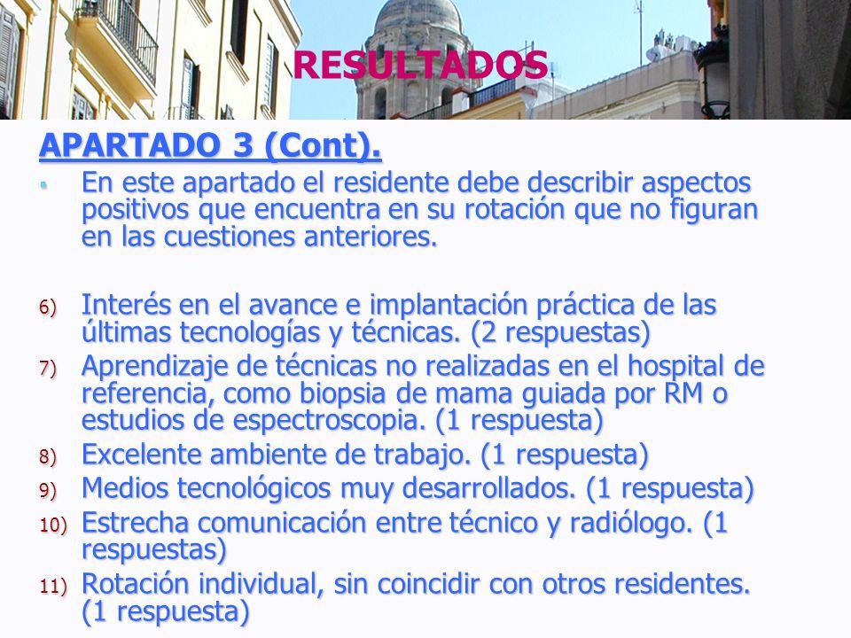 RESULTADOS APARTADO 3 (Cont).