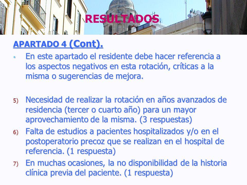RESULTADOS APARTADO 4 (Cont).