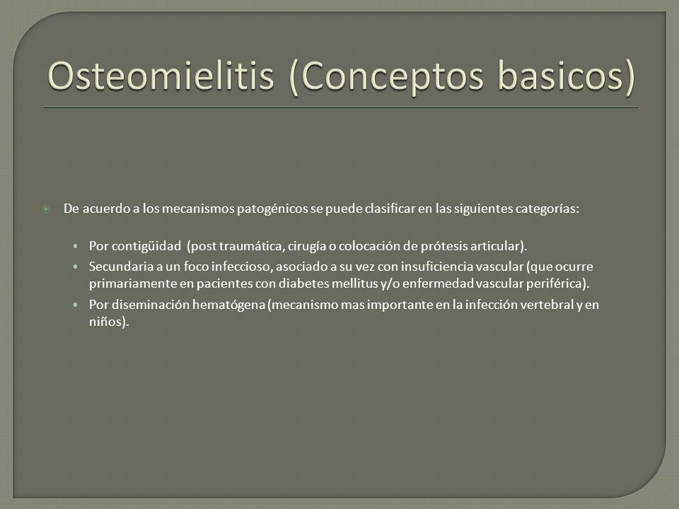 Osteomielitis (Conceptos basicos)