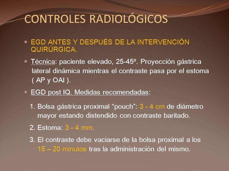 CONTROLES RADIOLÓGICOS