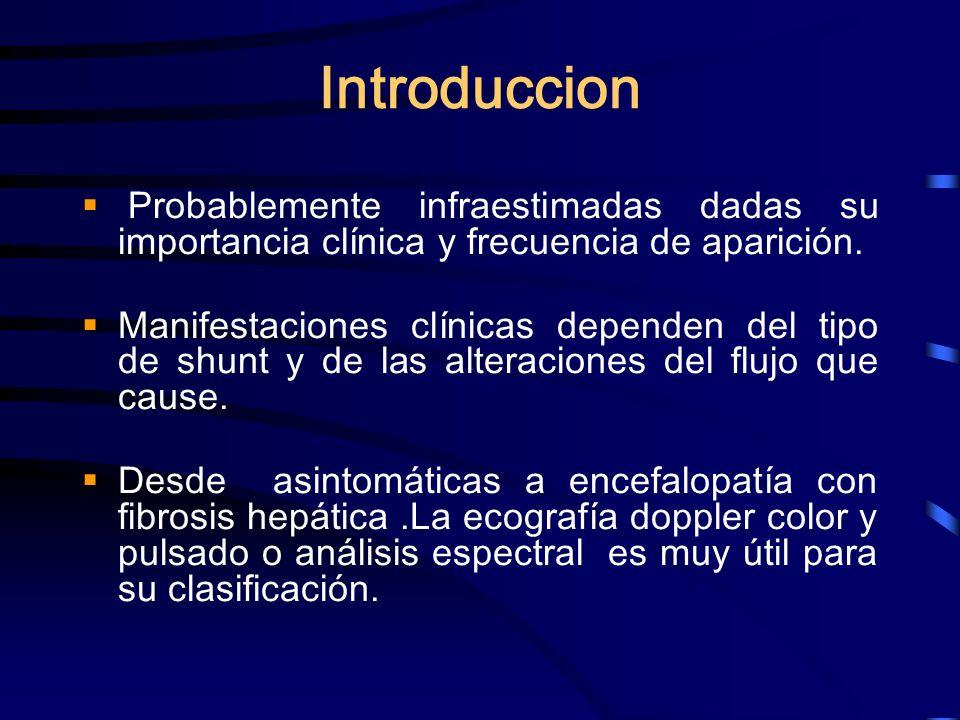 IntroduccionProbablemente infraestimadas dadas su importancia clínica y frecuencia de aparición.