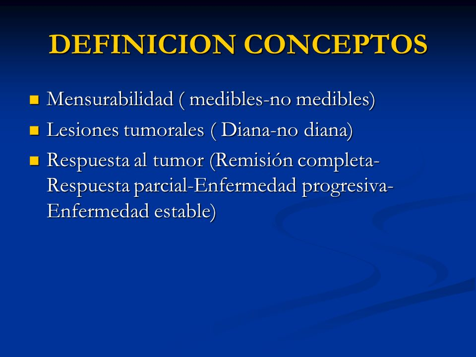 DEFINICION CONCEPTOS Mensurabilidad ( medibles-no medibles)