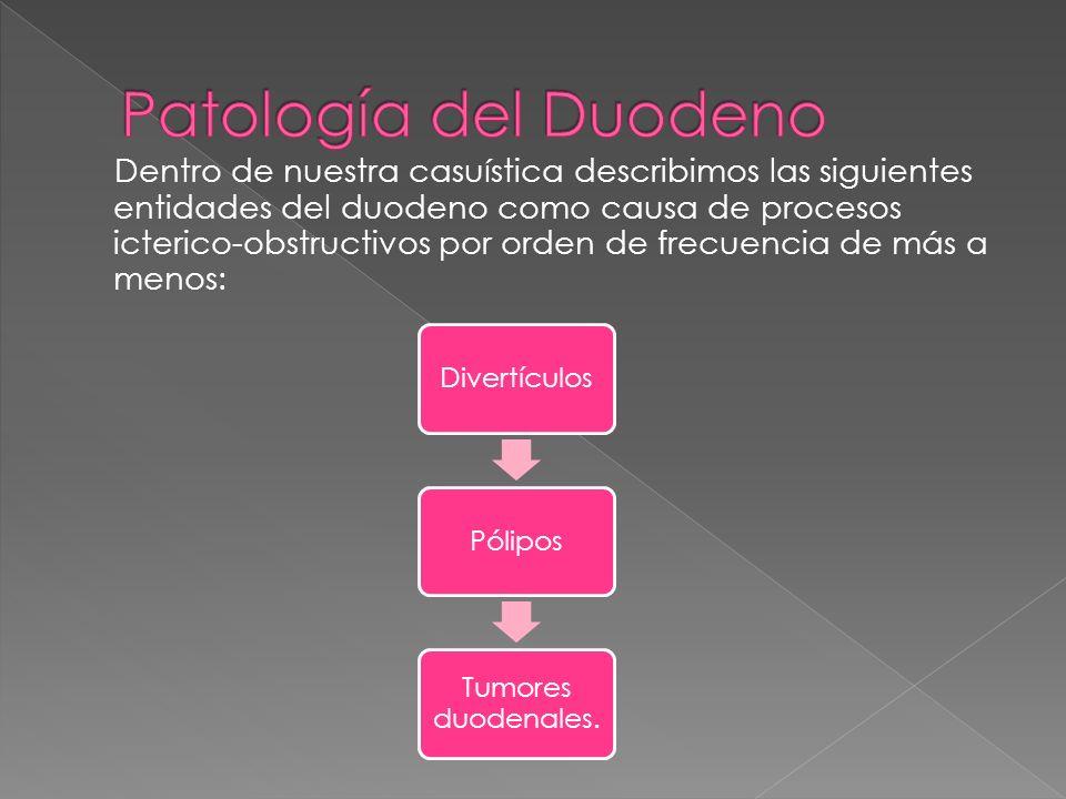 Patología del Duodeno