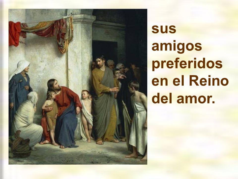 sus amigos preferidos en el Reino del amor.