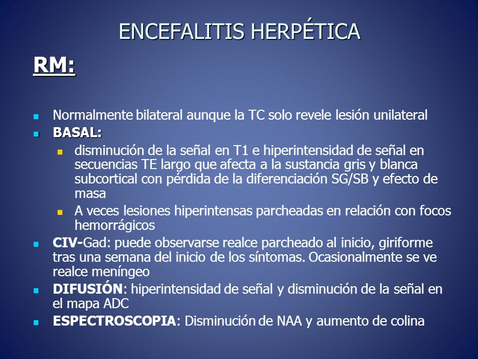 ENCEFALITIS HERPÉTICA