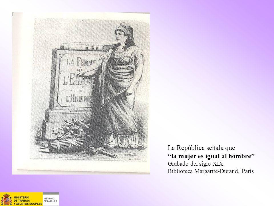 La República señala que la mujer es igual al hombre