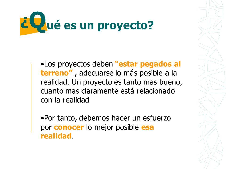 ¿Q ué es un proyecto