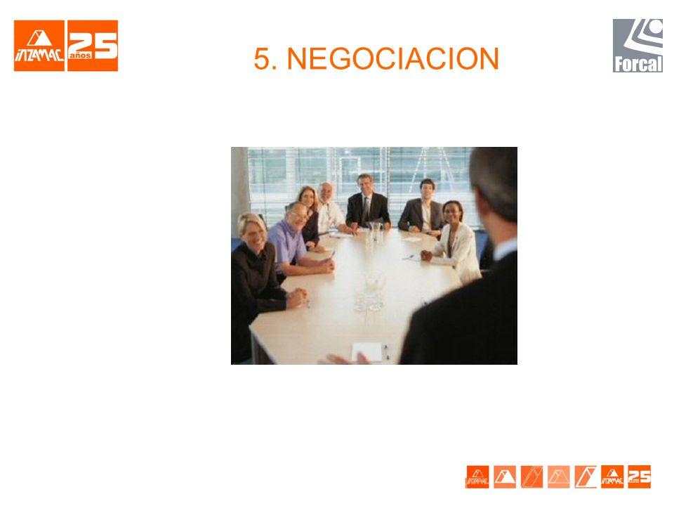 5. NEGOCIACION
