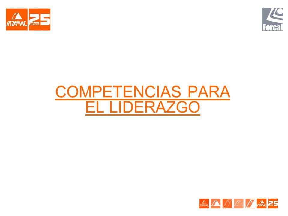 COMPETENCIAS PARA EL LIDERAZGO