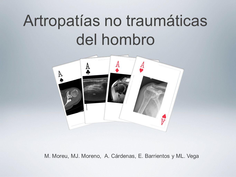 Artropatías no traumáticas del hombro