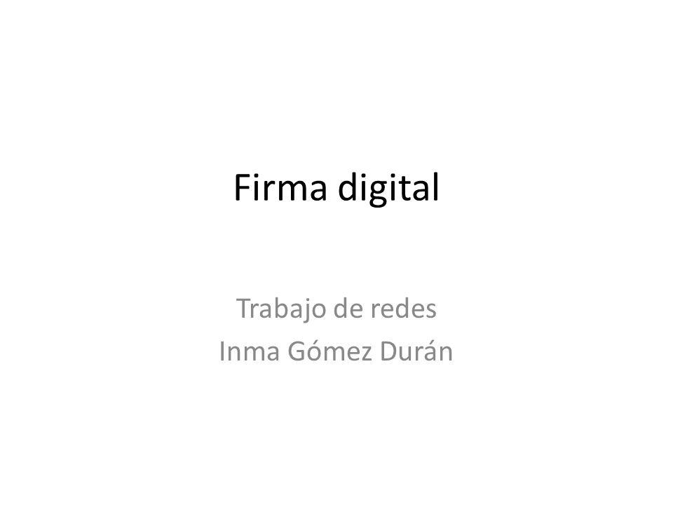 Trabajo de redes Inma Gómez Durán