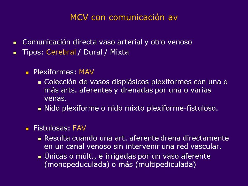 MCV con comunicación av