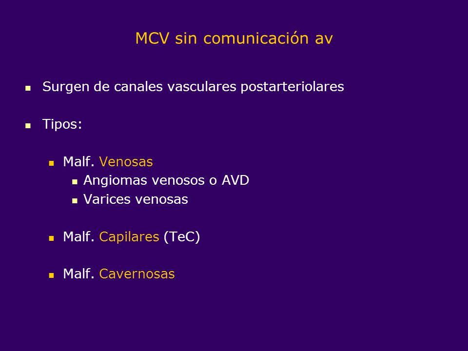 MCV sin comunicación av
