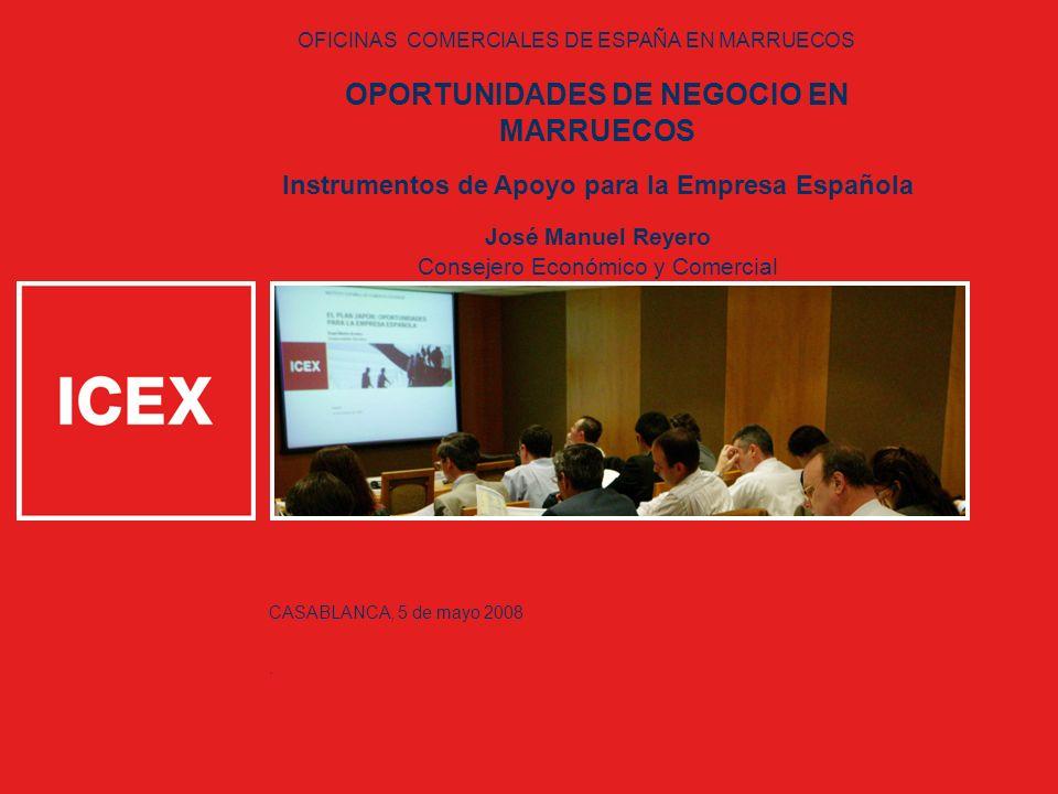 OPORTUNIDADES DE NEGOCIO EN MARRUECOS