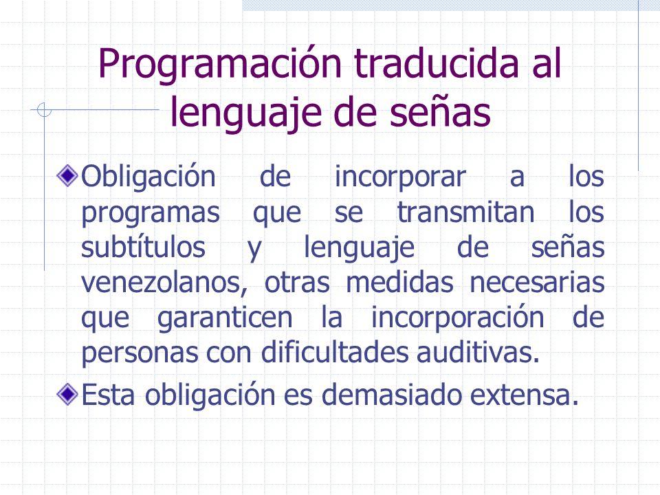 Programación traducida al lenguaje de señas