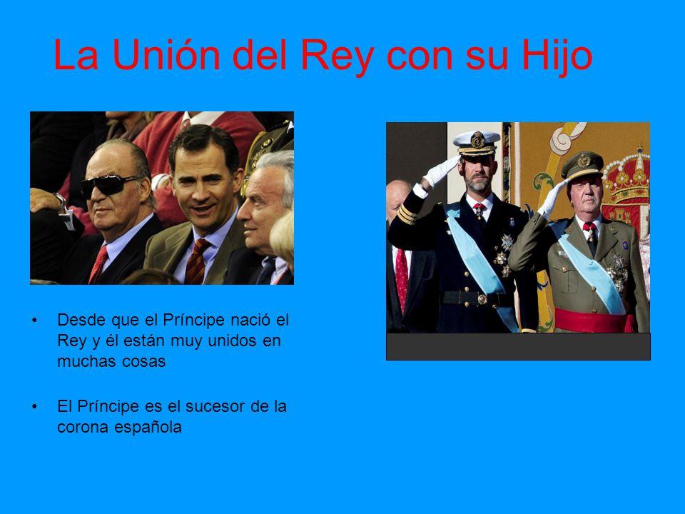 La Unión del Rey con su Hijo
