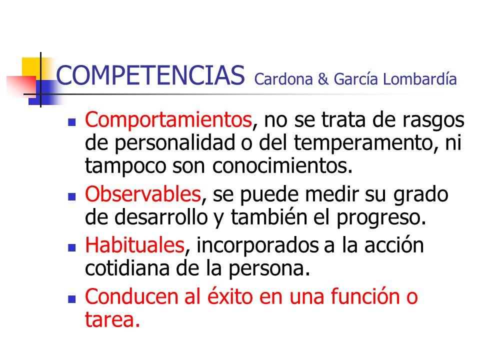 COMPETENCIAS Cardona & García Lombardía
