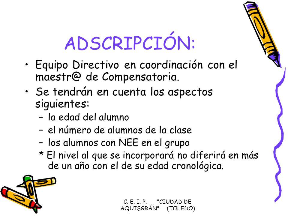 C. E. I. P. CIUDAD DE AQUISGRÁN (TOLEDO)