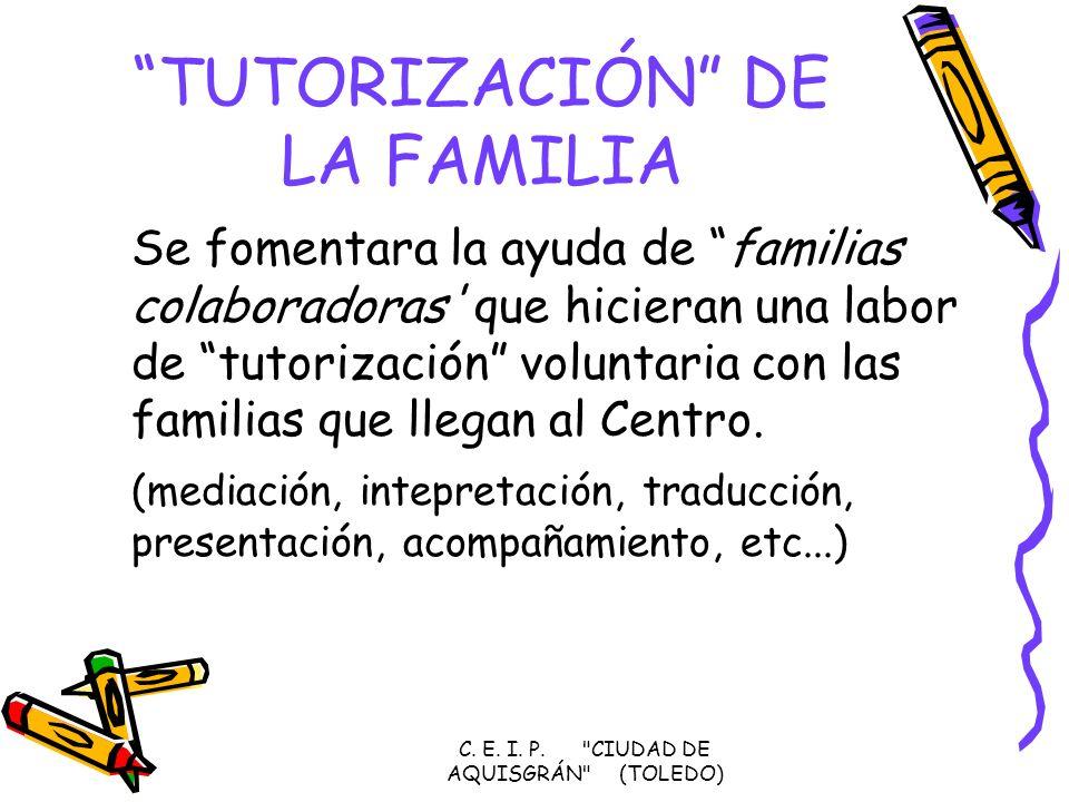 TUTORIZACIÓN DE LA FAMILIA