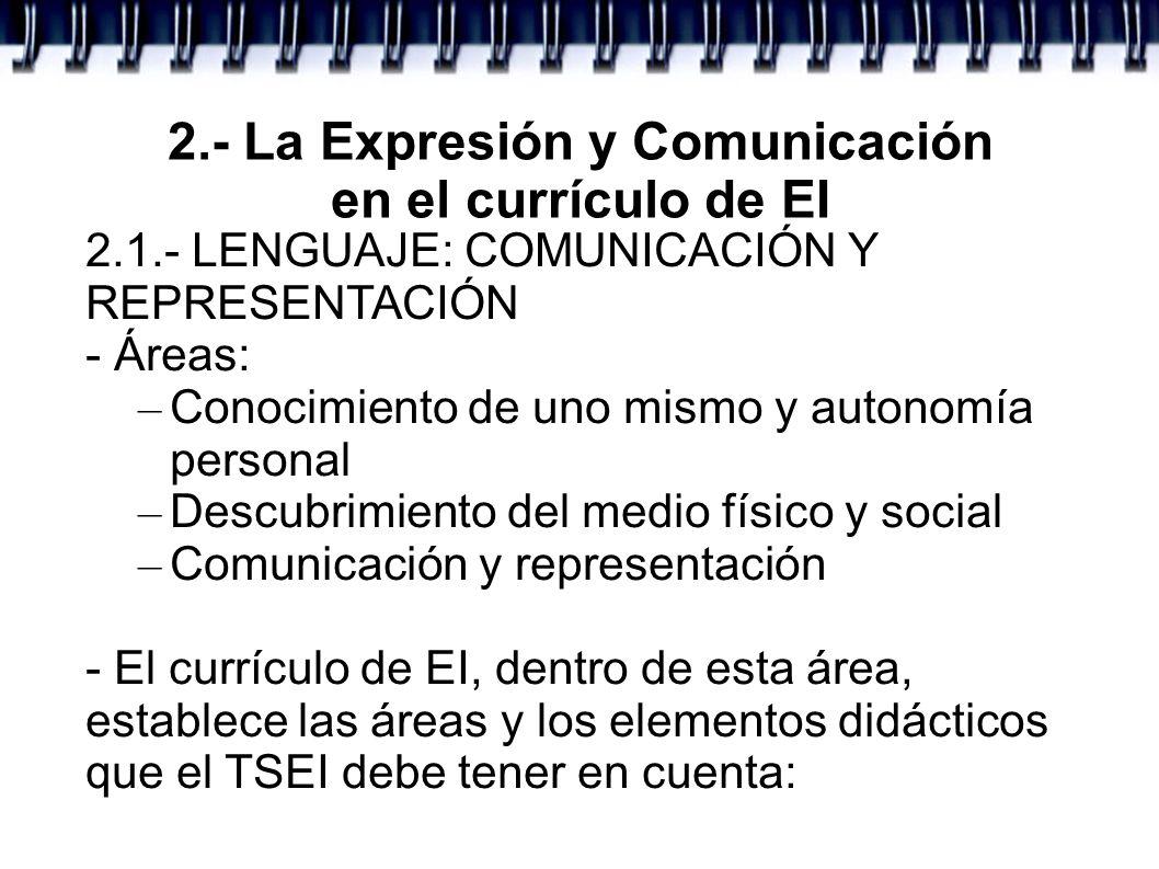 2.- La Expresión y Comunicación