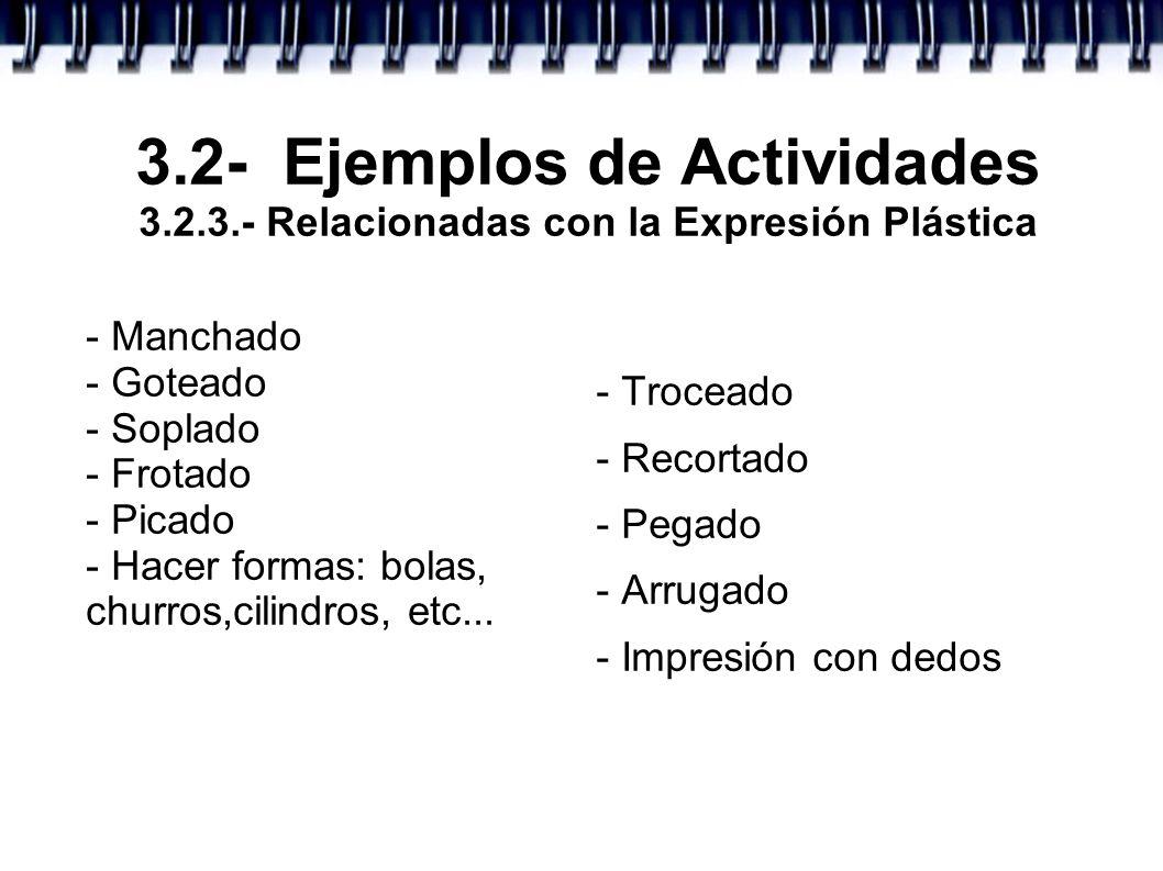 3. 2- Ejemplos de Actividades 3. 2. 3