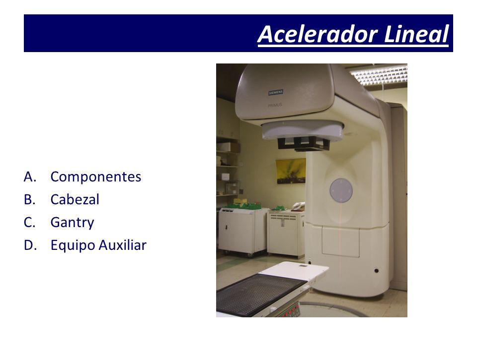 Acelerador Lineal Componentes Cabezal Gantry Equipo Auxiliar