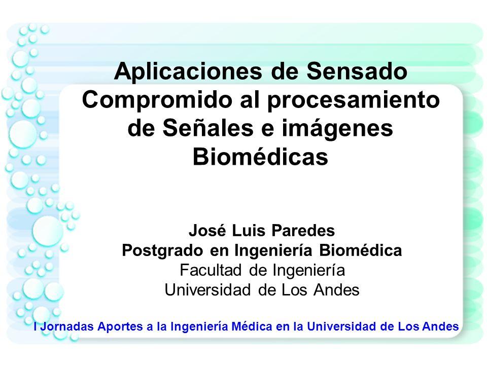 Postgrado en Ingeniería Biomédica