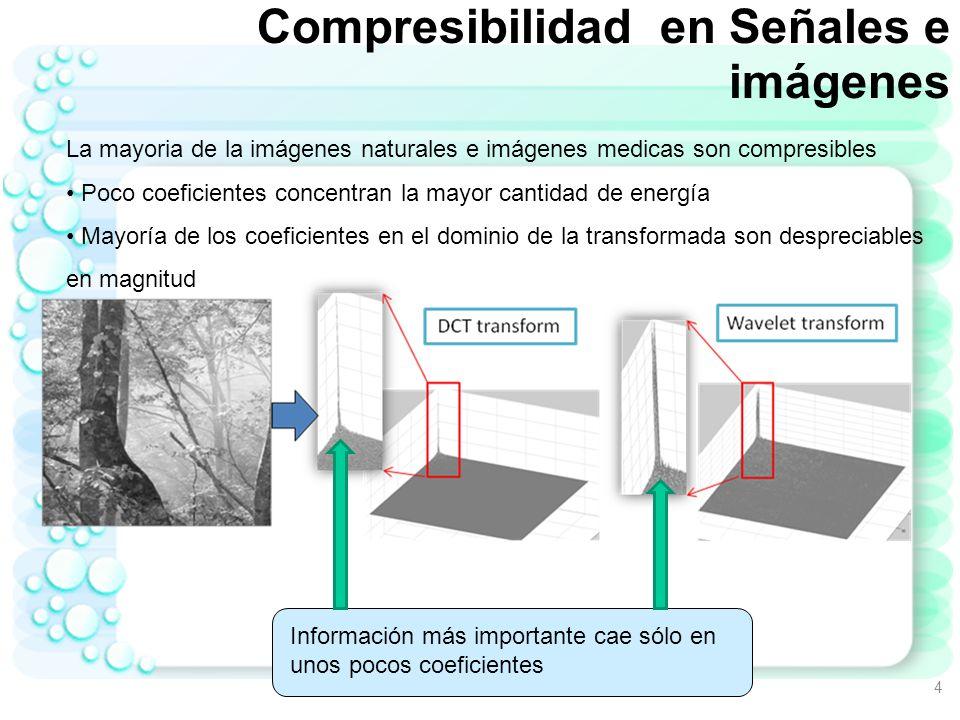 Compresibilidad en Señales e imágenes
