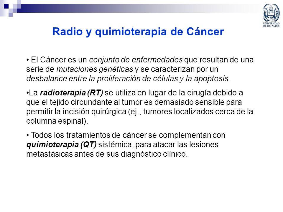 Radio y quimioterapia de Cáncer