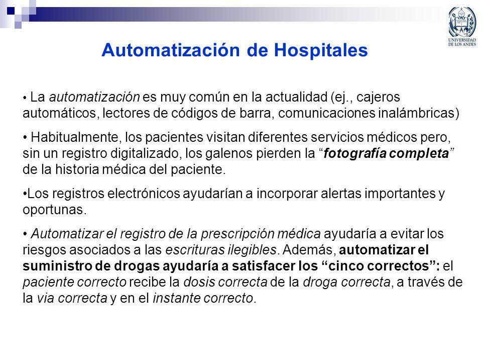 Automatización de Hospitales