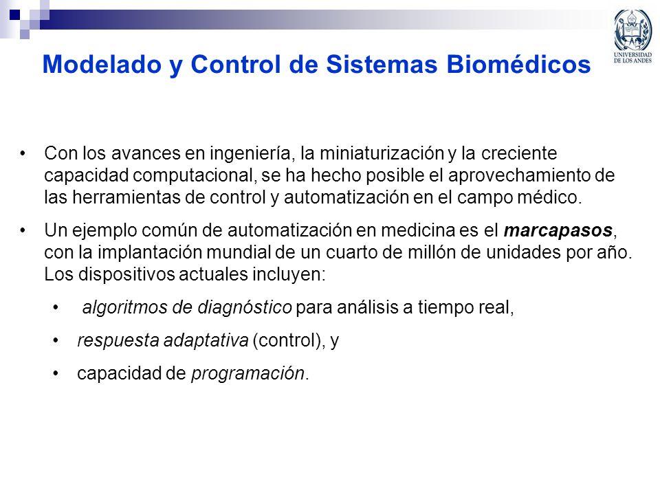 Modelado y Control de Sistemas Biomédicos