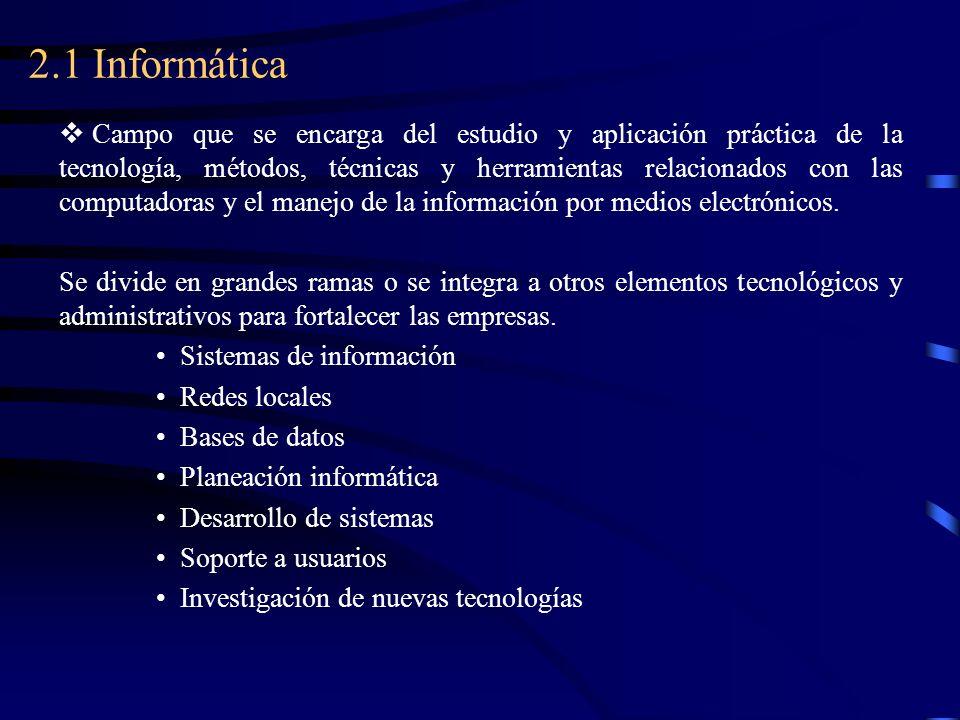 2.1 Informática