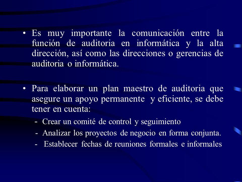 - Crear un comité de control y seguimiento