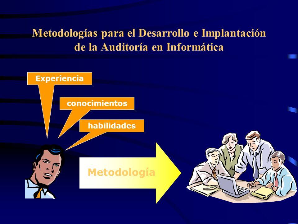 Metodologías para el Desarrollo e Implantación de la Auditoría en Informática