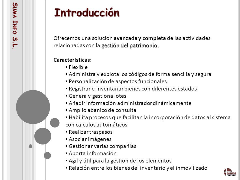 Introducción Suma Info S.L.