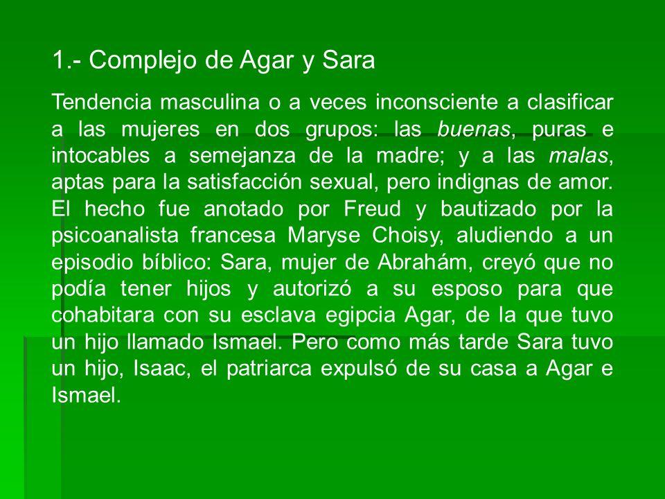 1.- Complejo de Agar y Sara