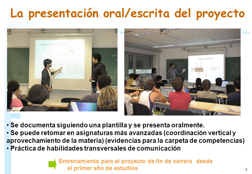 Ejemplos sobre el uso del aprendizaje basado en problemas Asignaturas de la carrera de arquitectura