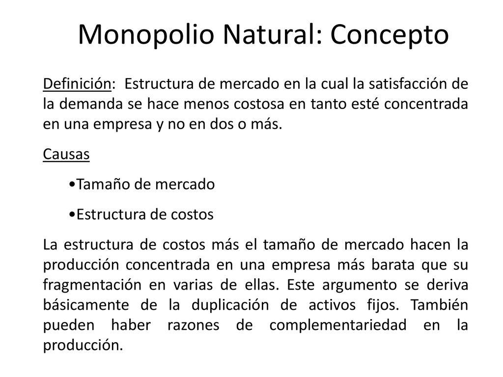 Principios De Economía De La Regulación Y La Defensa De La